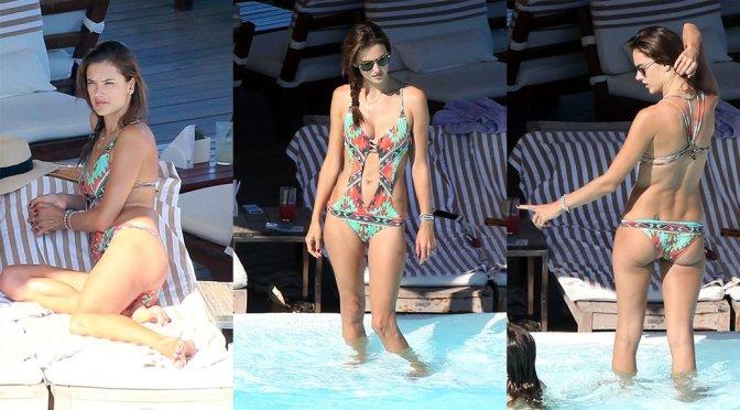Alessandra Ambrosio – Swimsuit Candids in Rio de Janeiro