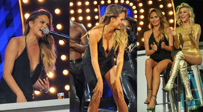 Chrissy Teigen – Lip Sync Battle LIVE at SummerStage in New York