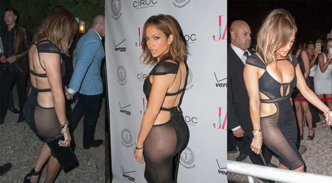 Jennifer Lopez – Birthday Party at 1OAK in New York