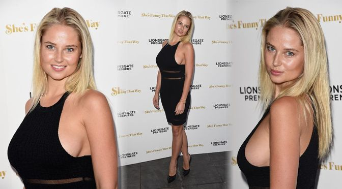 """Genevieve Morton – """"She's Funny That Way"""" Premiere in Los Angeles"""