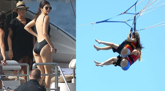 Kendall & Kylie Jenner – Candids in St. Barts