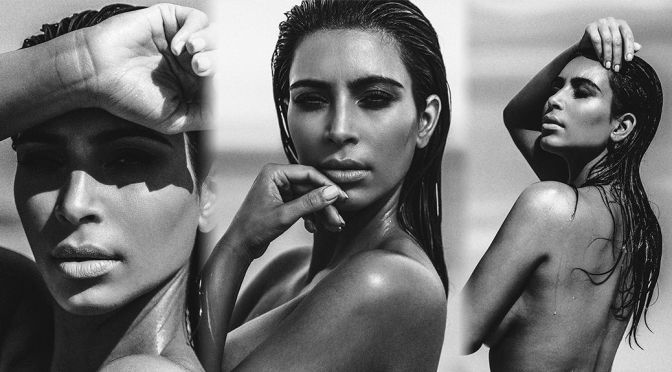 Kim Kardashian – C Magazine (September 2015)