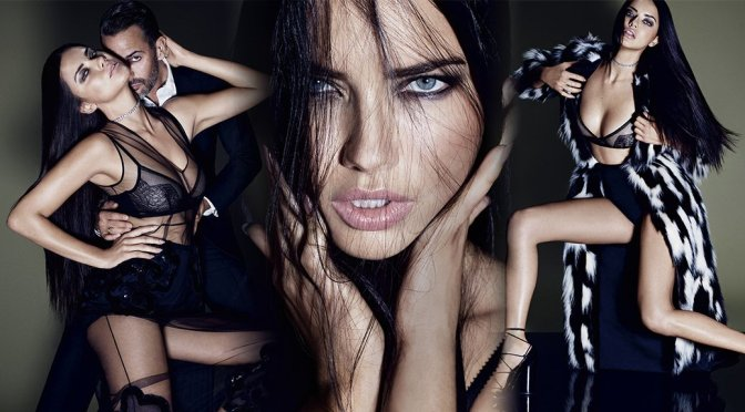 Adriana Lima – ELLE US Magazine Photoshoot (October 2015)