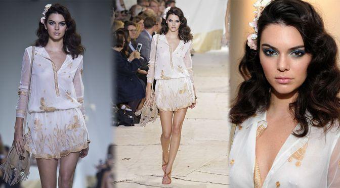 Kendall Jenner – Diane Von Furstenberg Fashion Show in New York