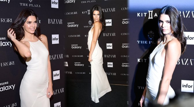 Kendall Jenner – 2015 Harper's BAZAAR ICONS Event in New York