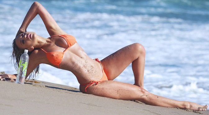 Ava Lange – 138 Water Bikini Photoshoot Candids in Malibu
