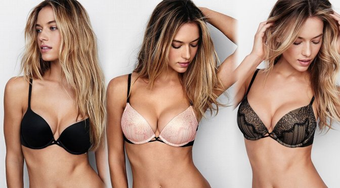 Hannah Ferguson – Victoria's Secret Lingerie Photoshoot