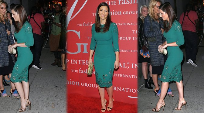 Jessica Biel – 2015 Fashion Group International Night Of Stars Gala