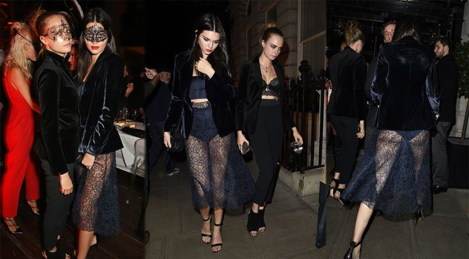 Kendall Jenner – Eva Cavalli Birthday Party in London