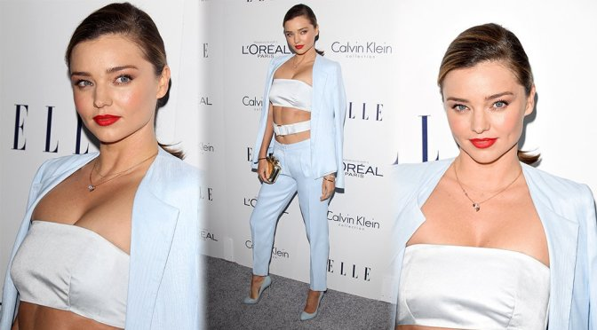 Miranda Kerr – 22nd Annual ELLE Women in Hollywood Awards