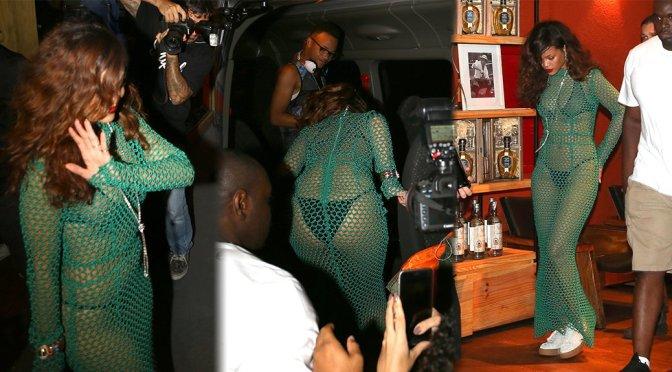 Rihanna – Candids in Rio de Janeiro