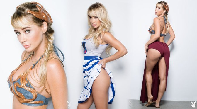 "Sara Jean Underwood – ""Star Wars"" Photoshoot"
