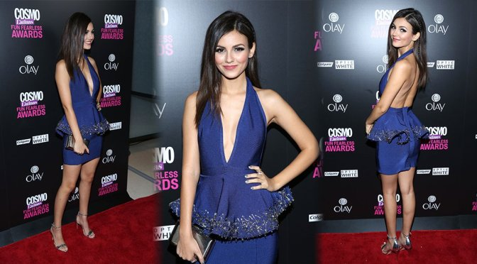 Victoria Justice – 2015 Fun, Fearless Latina Awards in New York