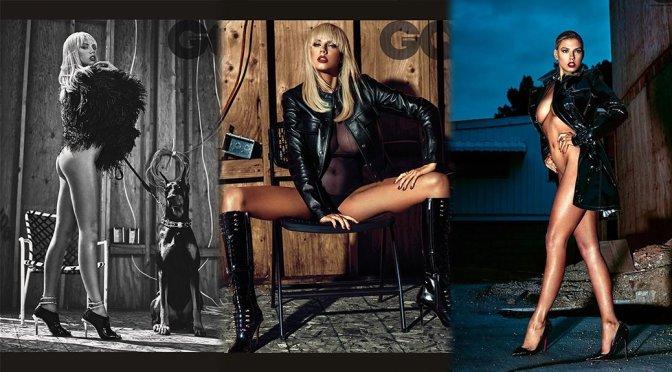 Charlotte Mckinney – GQ UK Magazine Photoshoot (December 2015)