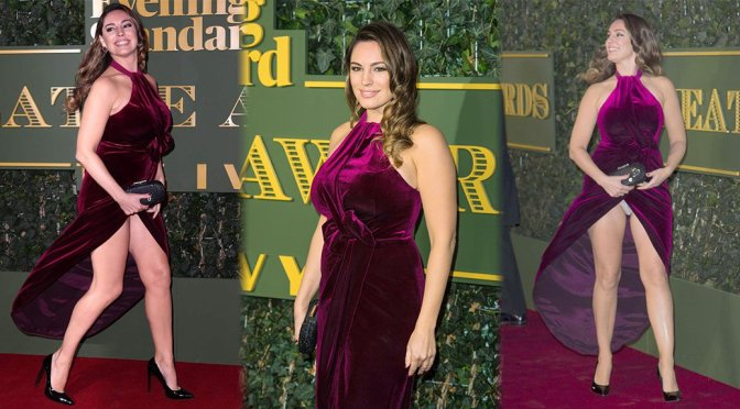 Kelly Brook – Evening Standard Theatre Awards in London