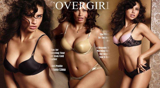 Adriana Lima – Cover Girl Magazine (November 2015)