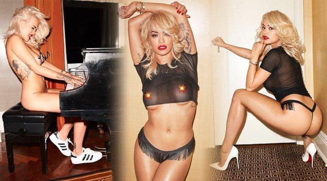 Rita Ora – Lui Magazine Topless Photoshoot Outtakes (NSFW)