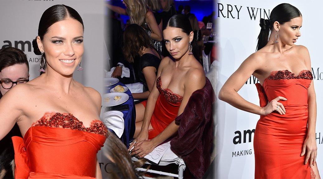 Adriana Lima - 2016 amfAR New York Gala