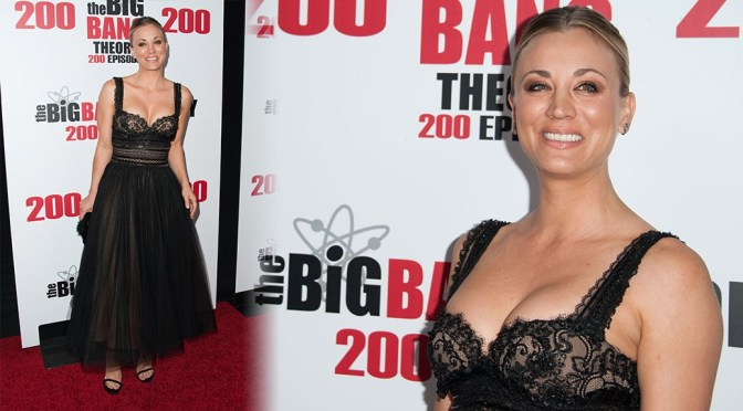Kaley Cuoco – Big Bang Theory 200th Episode Celebration in Los Angeles