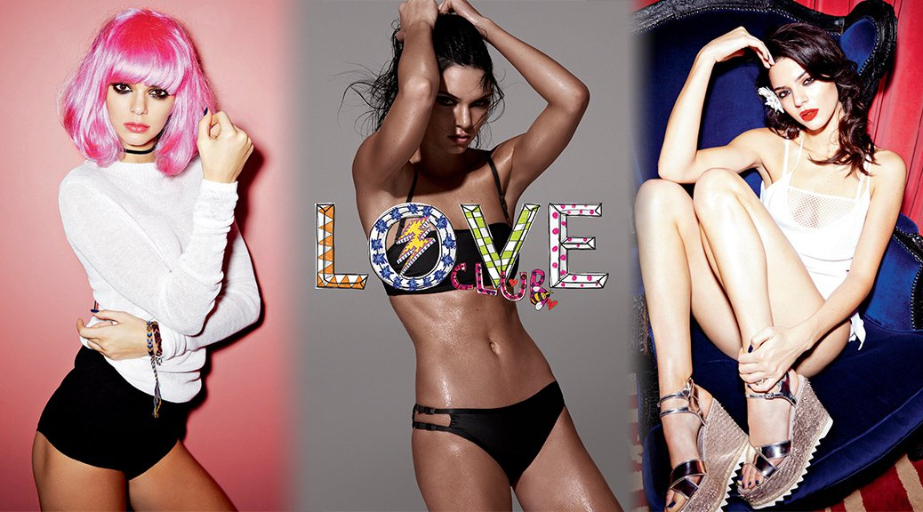 Kendall Jenner - LOVE Magazine Photoshoot (February 2016)