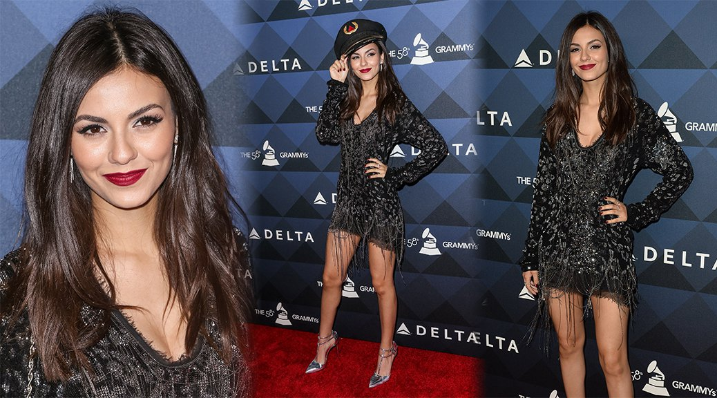 "Victoria Justice - Delta Airlines ""Site and Sounds"" Pre-Grammy Party"
