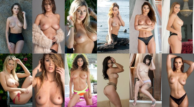 Various Celebs – Page 3 Topless Photoshoot