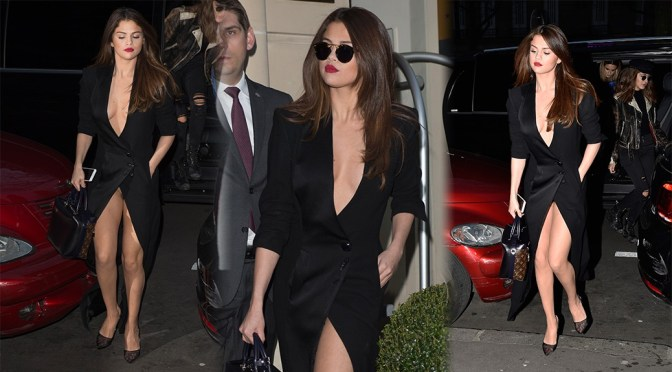 Selena Gomez – Leggy Candids in Paris