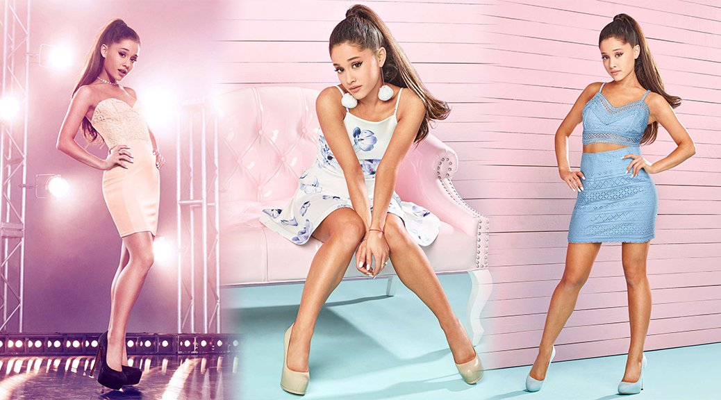 Ariana Grande - Jones Crow Lipsy Summer Collection 2016