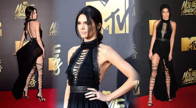 Kendall Jenner – 2016 MTV Movie Awards in Burbank
