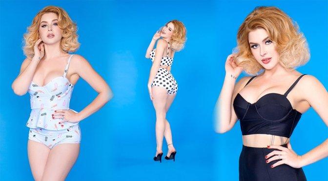 """Renee Olstead – """"Pinup Girl"""" Photoshoot"""