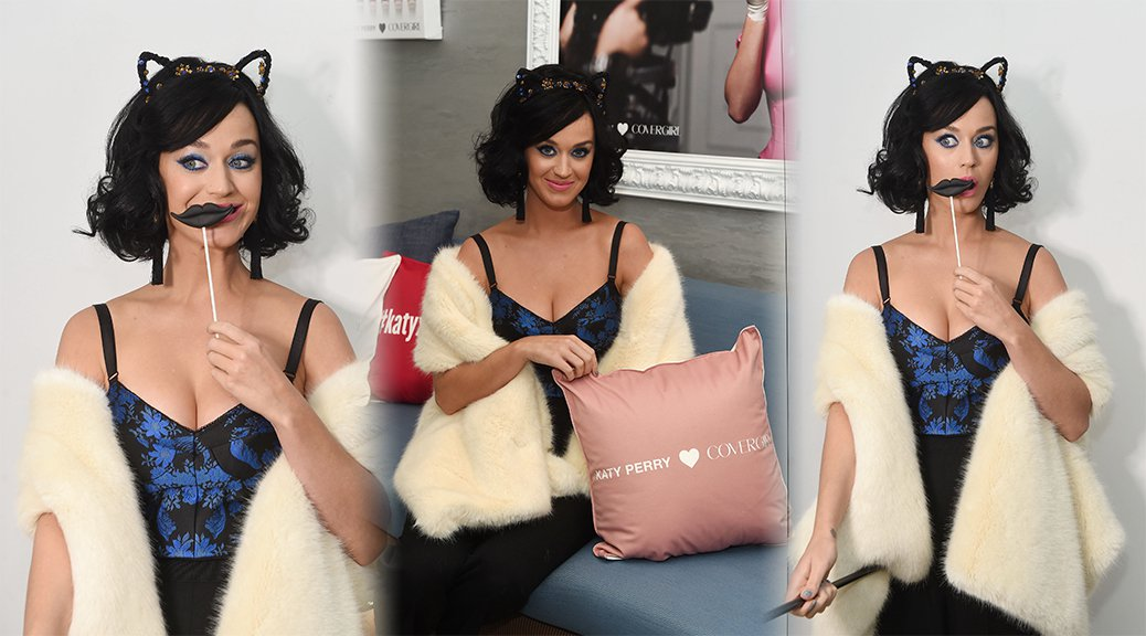 Katy Perry - COVERGIRL Katy Kat Matte Launch in New York