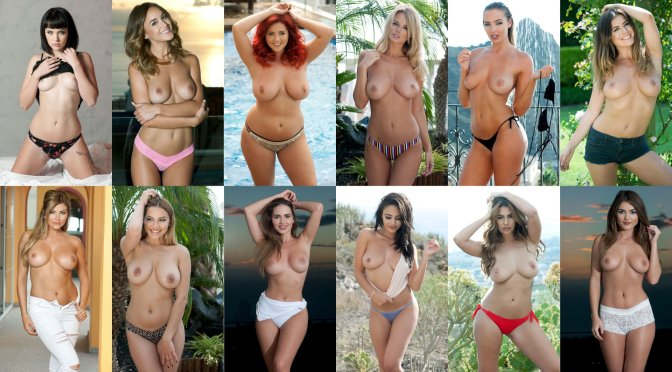 "Various Celebs – ""Page 3"" Topless Photoshoot"