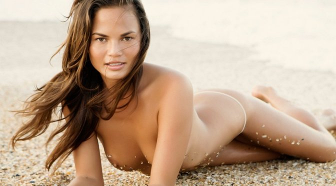 Chrissy Teigen – Naked Photoshoot by Dorian Caster