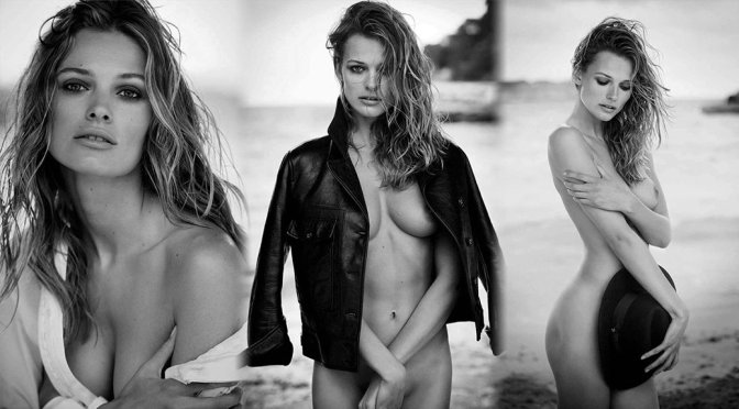 Edita Vilkeviciute – Vogue Germany Magazine Topless Photoshoot (July 2016)