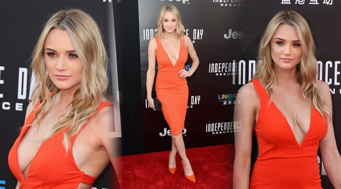"Hunter Haley King – ""Independence Day: Resurgence"" Premiere in Hollywood"