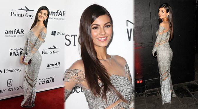 Victoria Justice – 7th Annual amfAR Inspiration Gala