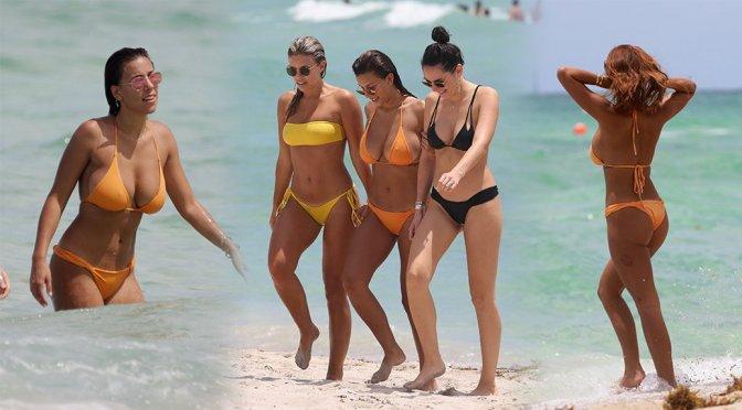 Devin Brugman – Bikini Candids in Miami Beach