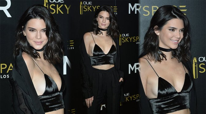 Kendall Jenner – OUE Skyspace Launch in Los Angeles
