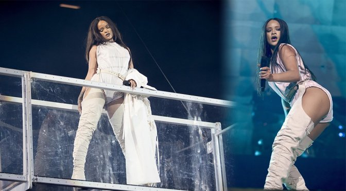 Rihanna Performs Live in Stockholm