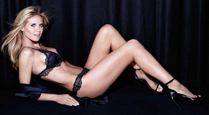 "Heidi Klum – ""Intimates"" Lingerie Photoshoot"