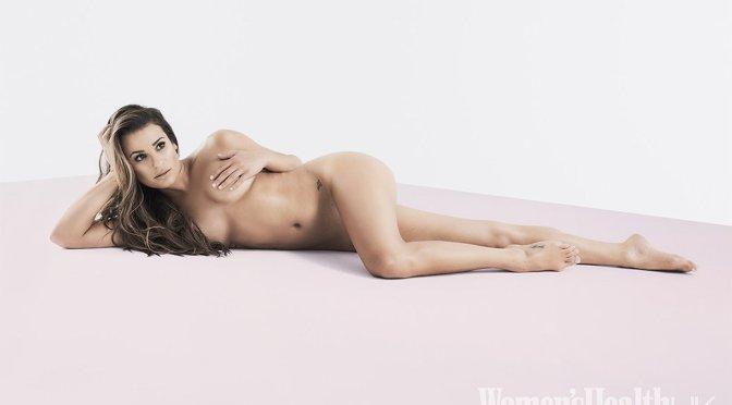 Lea Michele – Women's Health UK Magazine Naked Photoshoot (September 2016)
