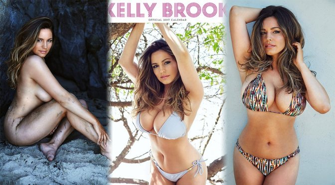 Kelly Brook – Official 2017 Calendar