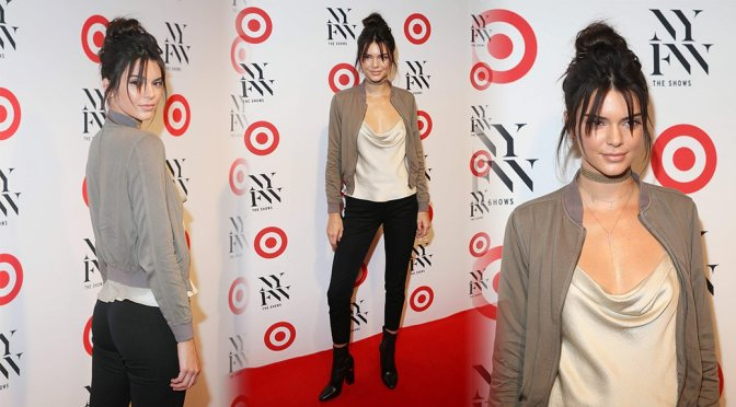 Kendall Jenner – IMG + Target Official NYFW Kick Off in New York