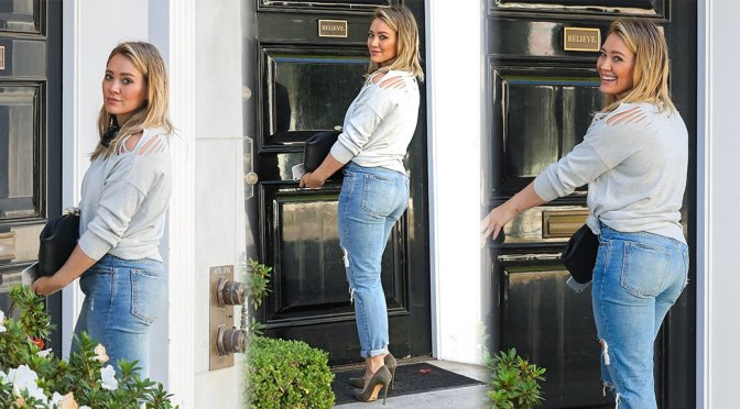 Hilary Duff – Candids in Los Angeles