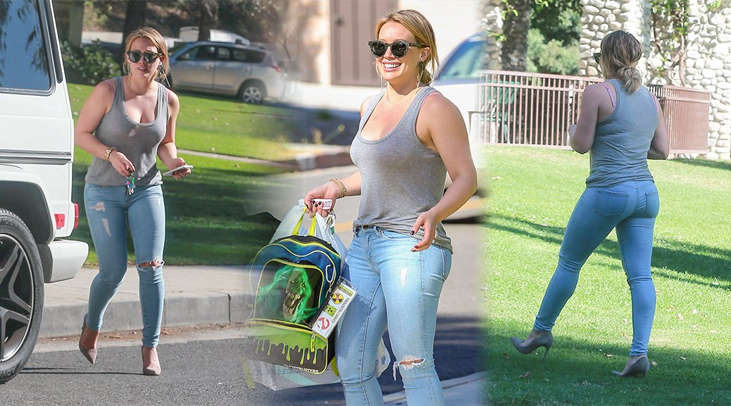 Hilary Duff - Candids in Beverly Hills