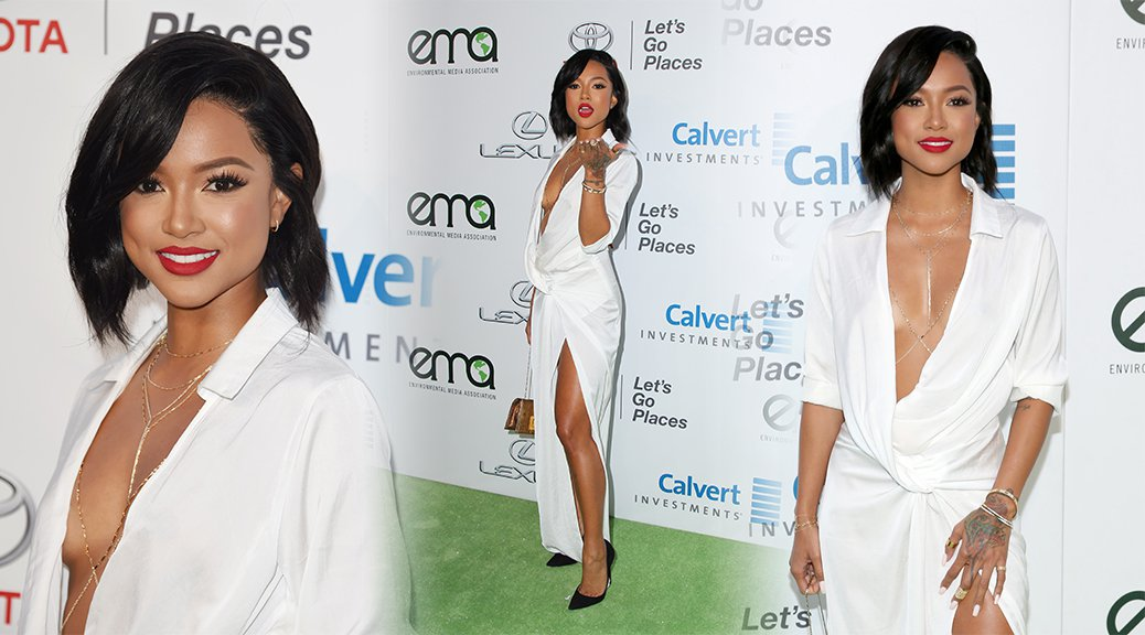 Karrueche Tran - Environmental Media Association Awards