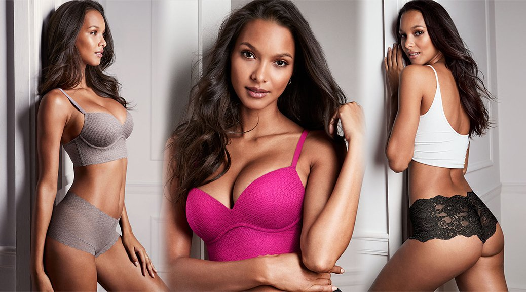 Lais Ribeiro - Victoria's Secret Lingerie Photoshoot