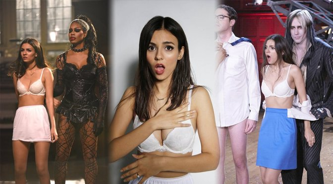Victoria Justice – The Rocky Horror Picture Show Promos