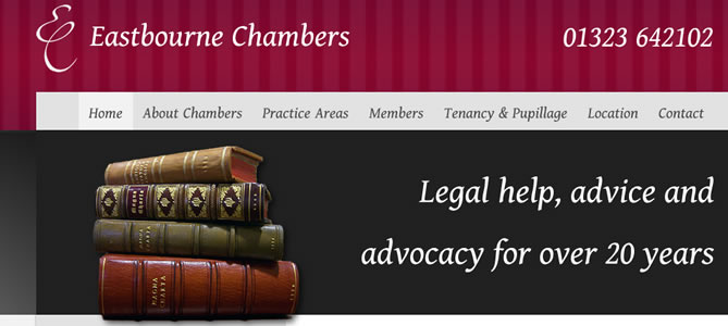 Eastbourne Chambers : Law Company Website