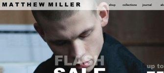 Matthew Miller : Magento e-commerce store